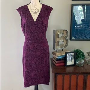 Ann Taylor Print Dress